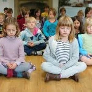 Curso meditación con los niños